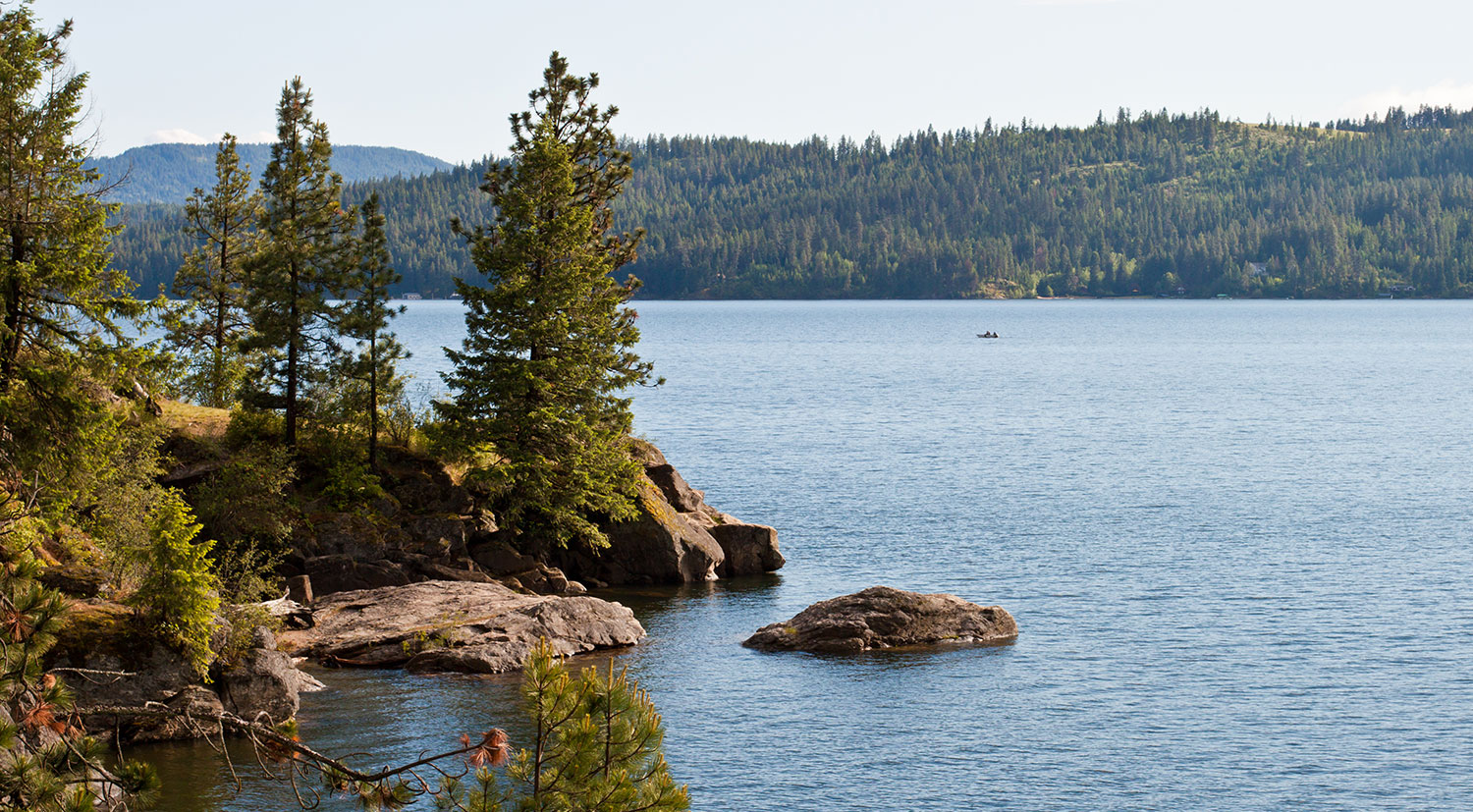 Coeur d'Alene View at the Best Family Dentist in Coeur d'Alene